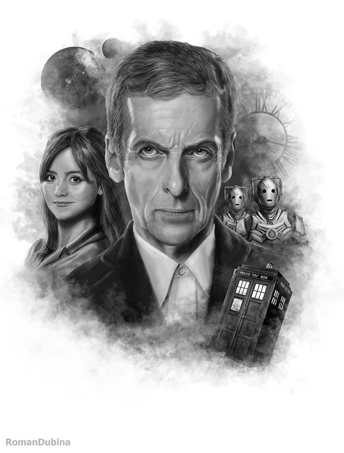 Doctor Who (12th Doctor) by RomanDubina on DeviantArt