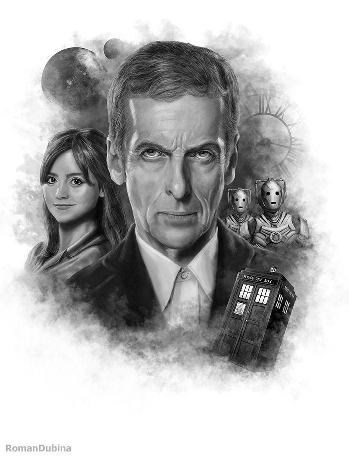 Doctor Who (12th Doctor) by RomanDubina.deviantart.com on @DeviantArt