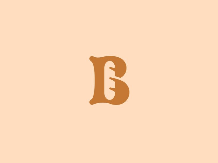 B monogram for a Bakery.  Anything like this already been made?   Open for feedback!