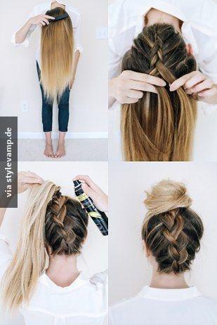 Die sommerliche Frisur