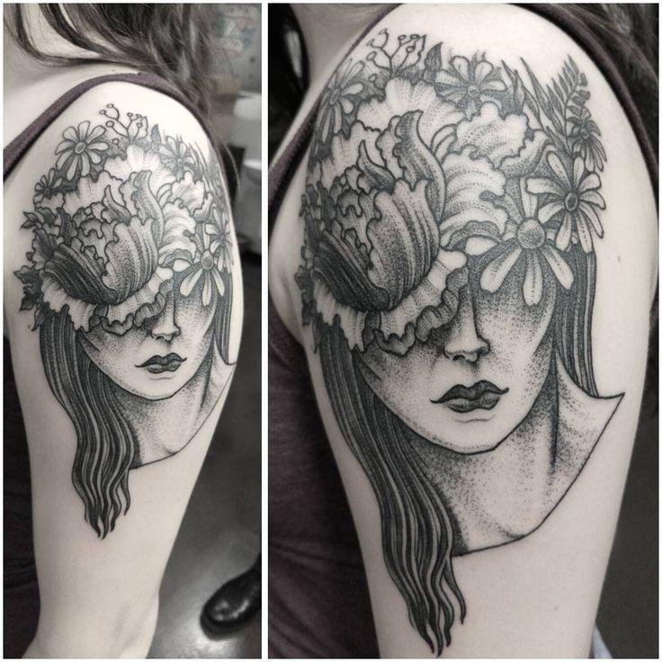 27 best dotwork blackwork tattoos images on pinterest for Famous tattoos fort myers