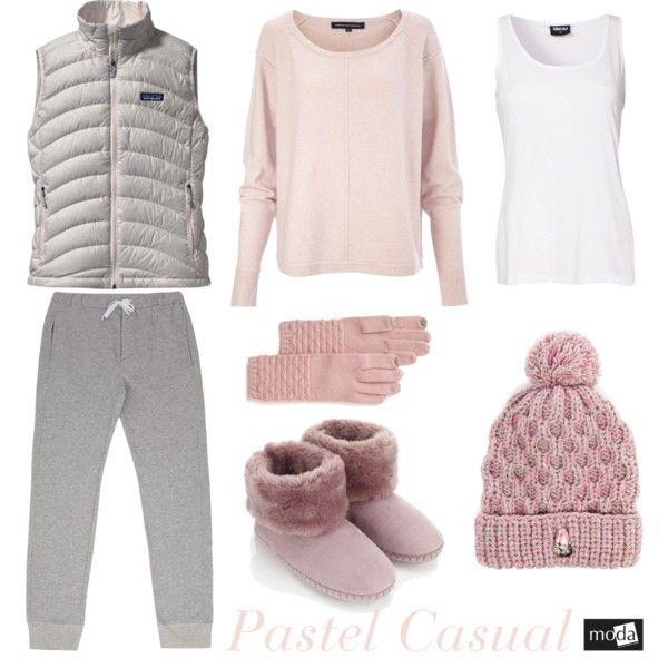 """Pastel Casual"" by modadasha on Polyvore"