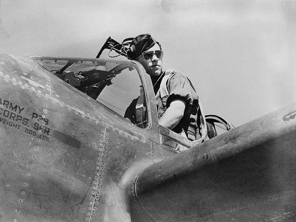 World War II, U.S. pilot