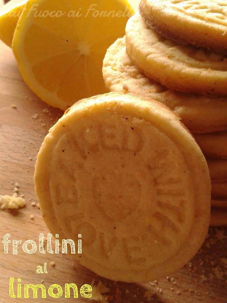 Frollini al limone_ricetta dolce