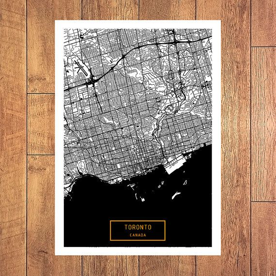 Best 25 Toronto canada map ideas that you will like on Pinterest