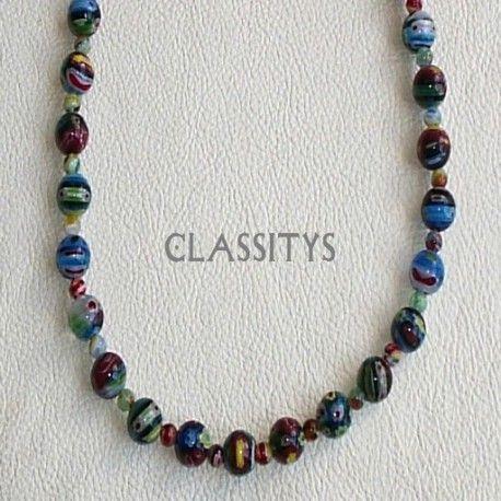www.classitysjewel.com Fashion jewelry. *Limited units* Límites edition Murano glass necklace. 210,00 €