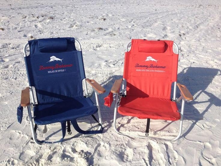 We Rent The Tommy Bahama Deluxe Reclining Backpack Chair