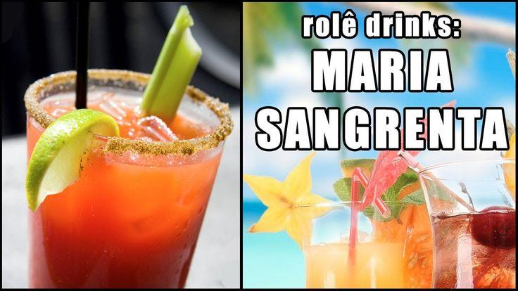Rolê Drinks - Maria Sangrenta (Bloody Mary) [Com e Sem álcool!]