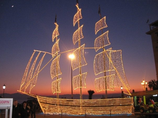 Thessaloniki, Greece, for New Years Eve