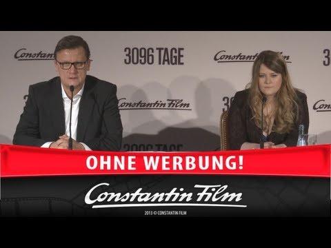3096 TAGE - Pressegespräch mit Natascha Kampusch, München 27.2.2013