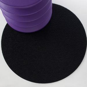 Chilewich : Floor : Indoor/Outdoor Mats : Shag Dot : Black (Round)