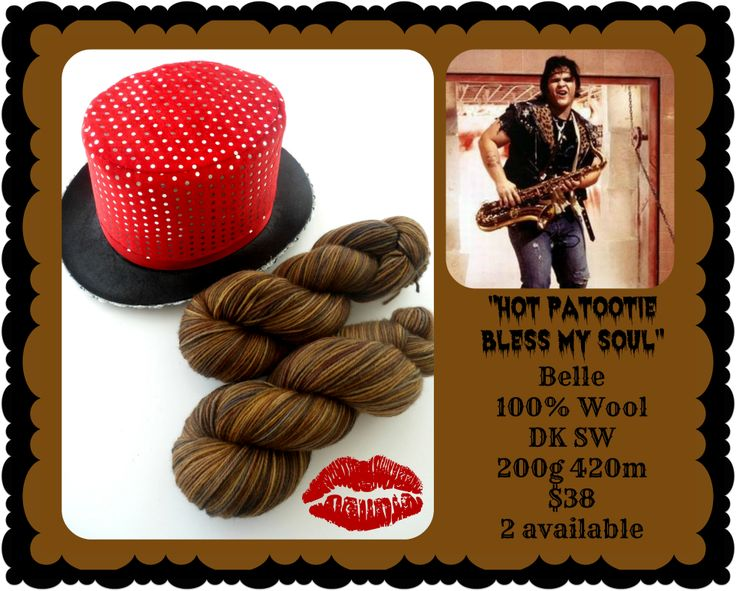 Hot Patootie Bless My Soul - Rocky Horror Picture Show | Red Riding Hood Yarns