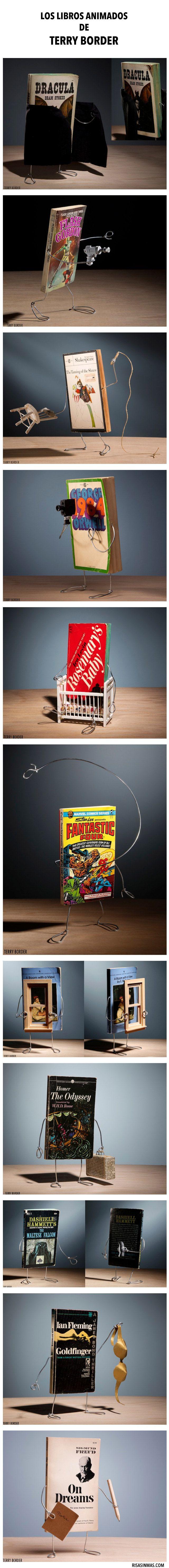 Los libros animados de Terry Border.