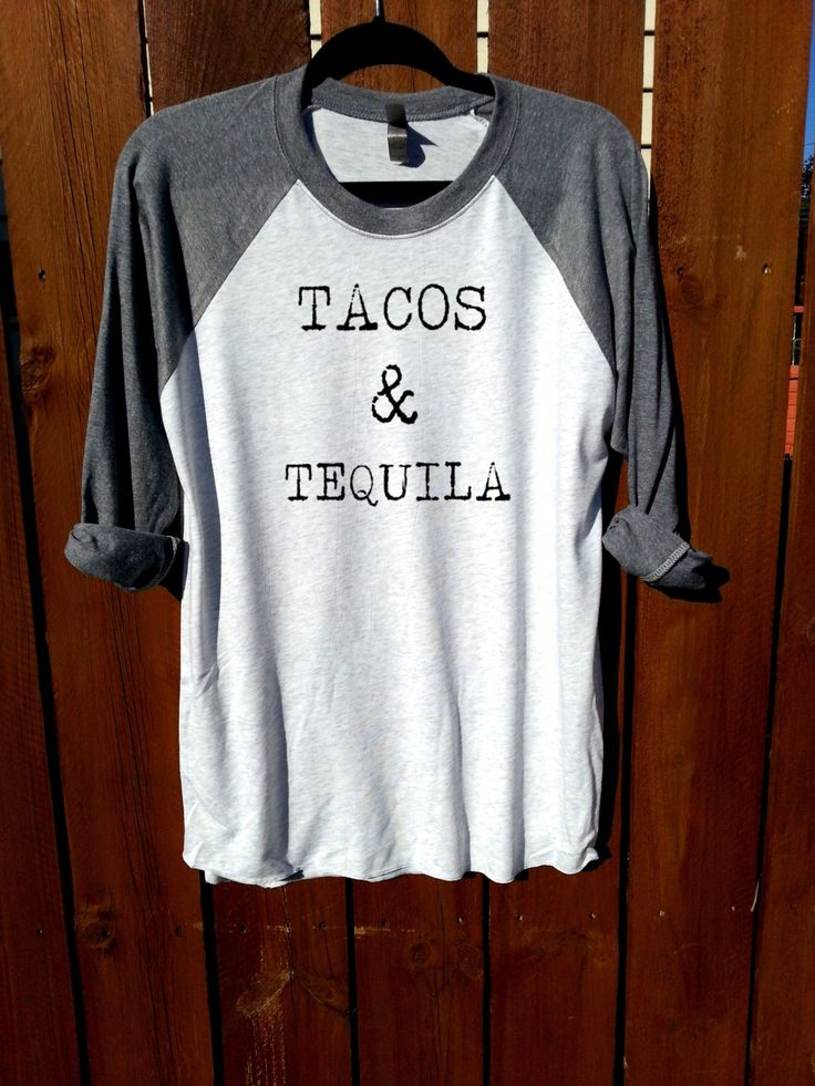 women shirt,women clothing,fashion shirt,tacos and tequila, unisex shirt,heather grey/heather white,women tee,tee,workout shirt,gym shirt by FashionCrazyGirl on Etsy https://www.etsy.com/listing/255152718/women-shirtwomen-clothingfashion