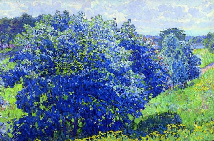 The Blue Bush, Konstantin Yuon