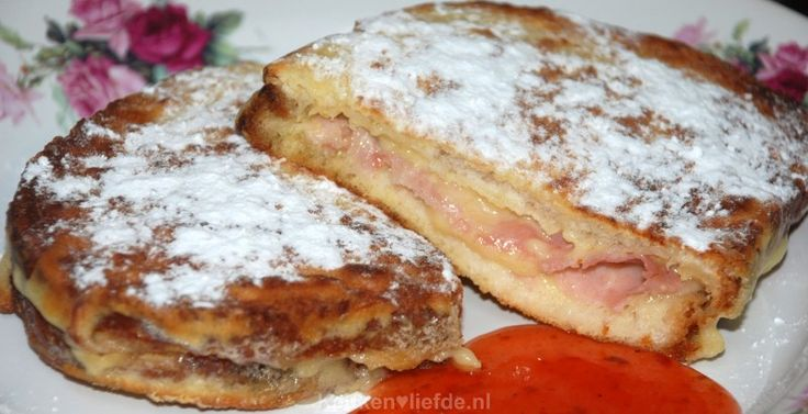 Amerikaanse monte cristo sandwich - Keuken♥Liefde