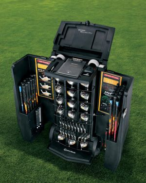 TaylorMade Golf Custom Fitting. It would be fun to fit people for their clubs in a pro shop with this kit.