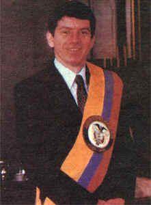 Presidente Cesar Gaviria Trujillo.