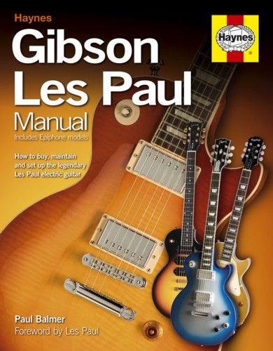 Haynes Gibson Les Paul Manual. £21.99
