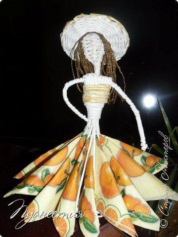 По просьбам показываю процесс создания  барышни - салфетницы. В ее создании мне помог мастер- класс африканки. фото 1