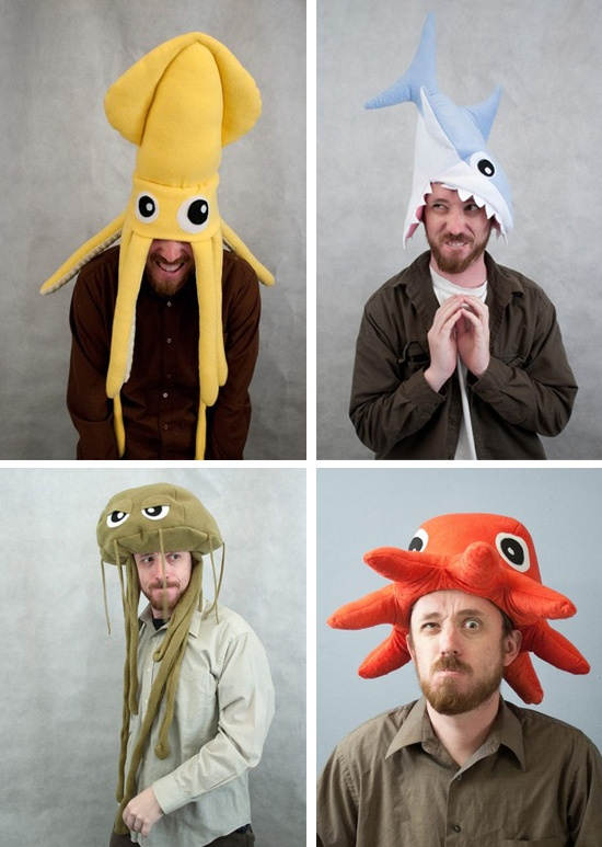 Why not wear a sea creature as a hat?  sc 1 st  Pinterest & 77 best in my other life i am a costumer images on Pinterest ...