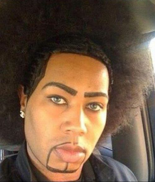 bad eyebrows, funny eyebrows, bad makeup, worst eyebrows, ugly ...