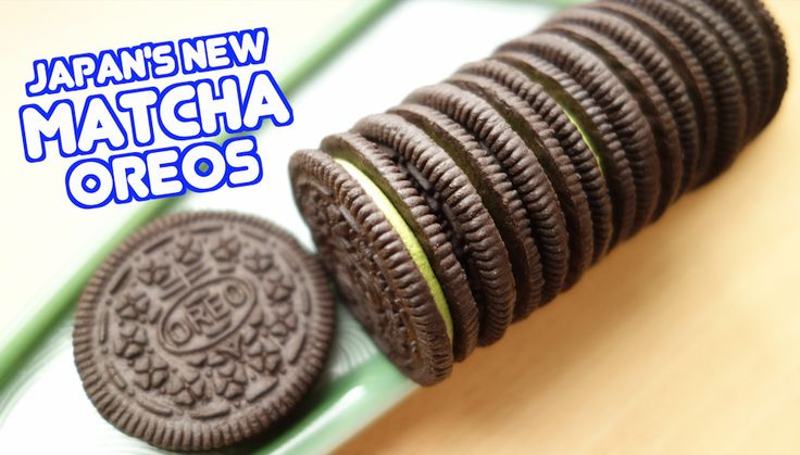 Thefull-sized Oreo sandwich cookienow comes filled with a delicious green tea matcha cream centre.