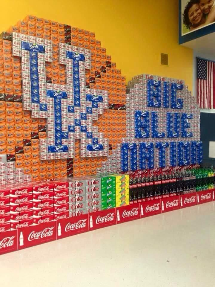 This is how grocery stores roll in  Kentucky #BBN #BBN4Life