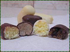Egészséges, diabetikus szaloncukor házilag, cukor nélkül - kókuszos-mandulás, rumos-diós
