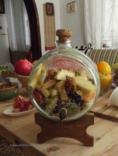 Tükenmez; Eski Zamanlarda Soğuk Kış Günlerinin Geleneksel Mayalı İçeceği    -  Nurdan Çakır Tezgin #yemekmutfak