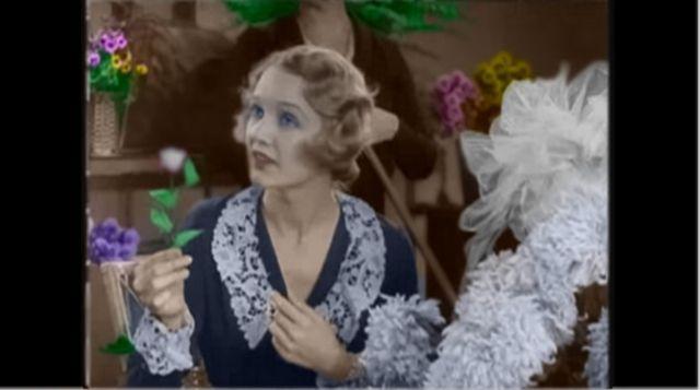 Virginia Cherrill(City lights-C.Chaplin)