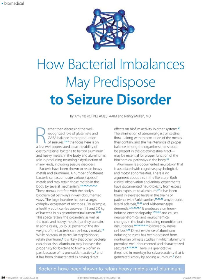101 best epilepsy resources images on pinterest epilepsy epilepsy how bacterial imbalances may predispose to seizure disorder scribd fandeluxe Images