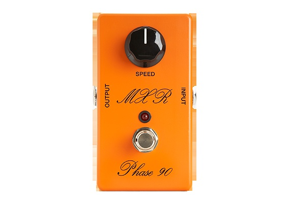 Dunlop Manufacturing :: Electronics :: MXR :: MXR Script Phase 90 with LED - have the original and this is indeed EXACTLY the same - well done!: Pedal Boards, Guitar Pedals