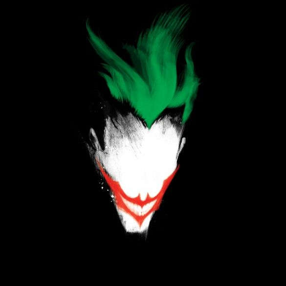 Daily Tee: The Dark Joker T-shirt Design by 6amcrisis - fancy-tshirts.com