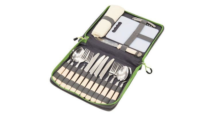 The Ragley Picnic Cutlery Set has knife fork and spoon for four plus chopping board mats and bottle opener Features 4 knives 4 forks 4 spoons 4. Tableware, camping tableware, outdoor cooking, outdoor dinning, Christmas gifts, Christmas presents, Christmas tableware, Portable stoves, fishing cooking, camping cooker, camping stove, Christmas gift, Christmas presents, Camping BBQ's, Barbecues UK, BBQ and cooking equipment, garden BBQ, camping BBQ, outdoor BBQ, outdoor cooking, portable stove...