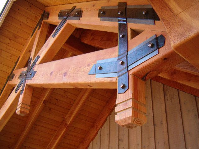 7 Best Images About Wooden Beam Brackets On Pinterest