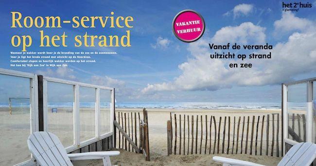 Rijk aan zee - verhuur van luxe strandhuizen in Wijk aan Zee (Eco Lodges)