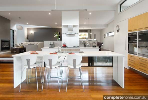 Modern kitchen design by enigma interiors