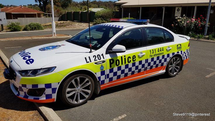 Police (Ford Falcon) @ Boddington, Western Australia