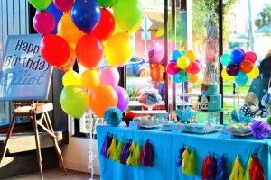 Up Birthday Party Theme - Dessert Table