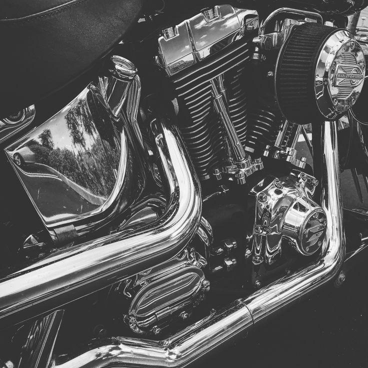 Harley Davidson deuce chrome