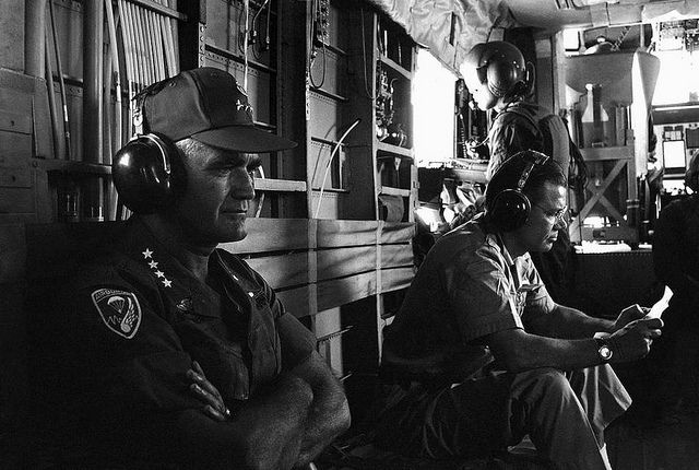 Gen. William Westmoreland and Robert McNamara, Vietnam, July 10, 1967