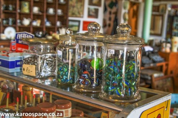 Shopping in the Karoo.