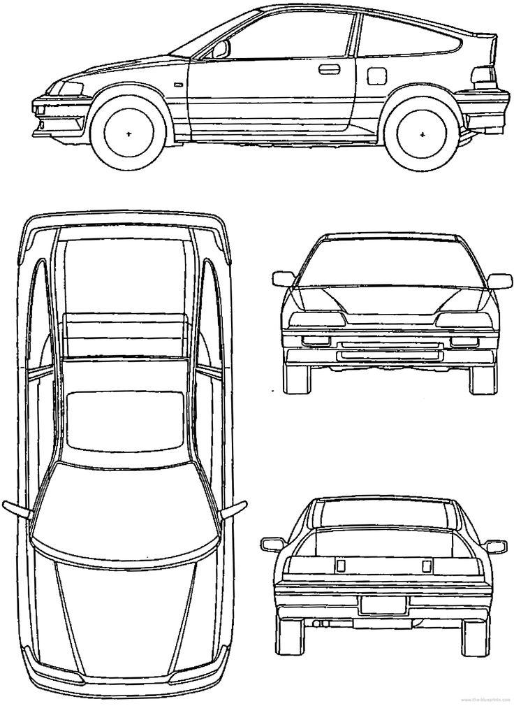 Honda crx, Honda, Japan cars