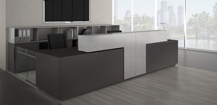Reception counter Bridge by Estel