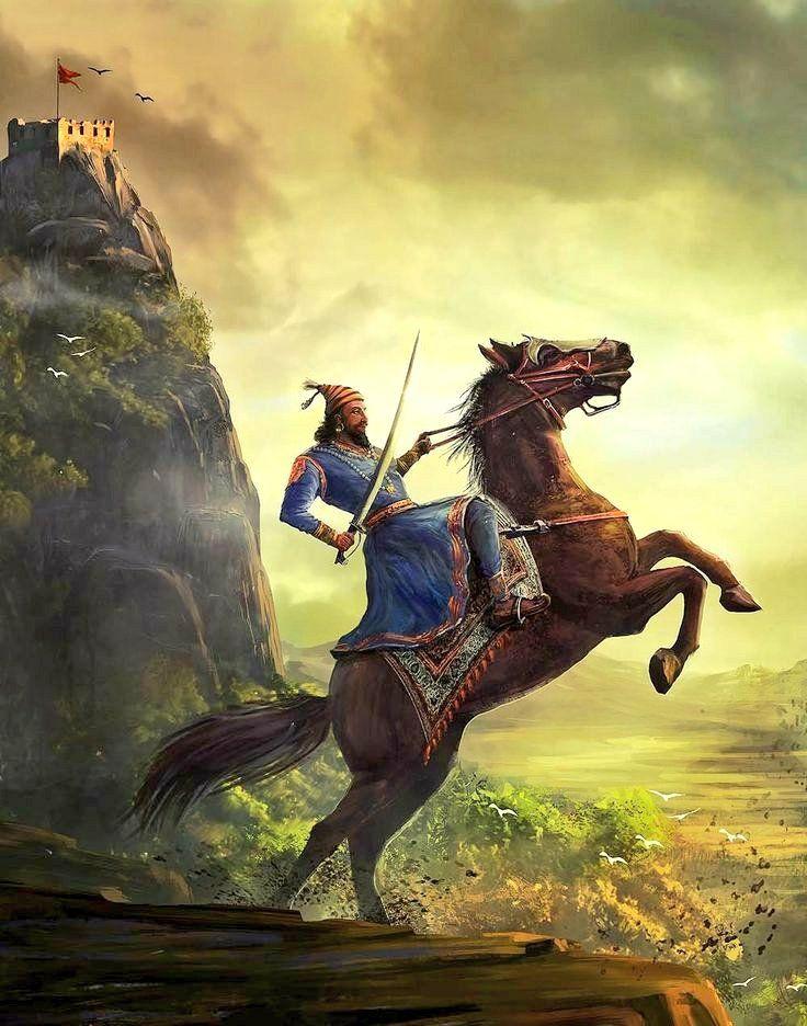 Our Tribute To The Great Patriot True Visionary Brave Warrior Chhatrapati Shivajimahara Shivaji Maharaj Hd Wallpaper Hd Wallpapers 1080p Warriors Wallpaper