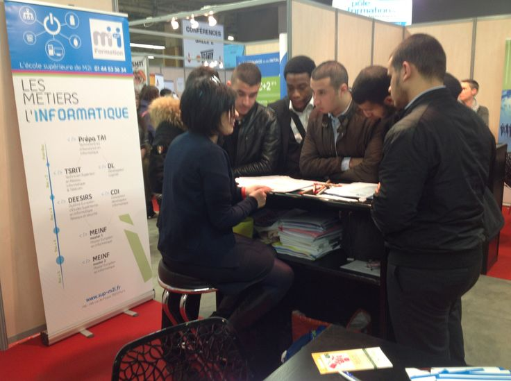 Supm2i au salon de l 39 etudiant 7 au 9 mars 2014 paris for Salon etudiant paris