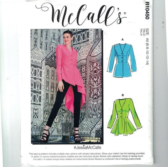McCall Pattern M8046-A5 6-8-10-12 Various