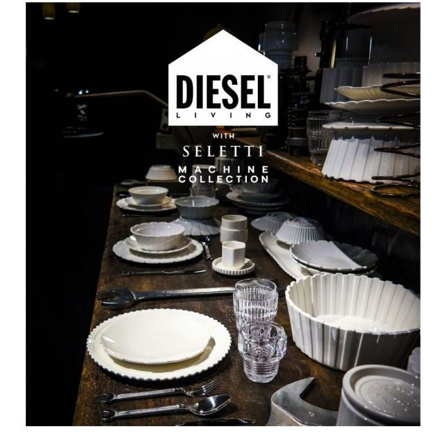 Seletti DIESEL MACHINE COLLECTION Set 3 bicchieri H 13 cm | FORME e COLORI