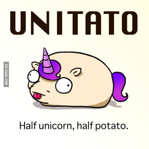 Unitato.  I love the internet.  I would buy a plush version of this.